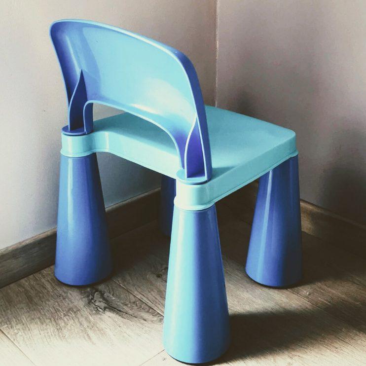 Krzesełko w kącie jako kara dla dzieci