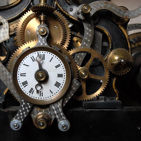 zegar odmierzający czas